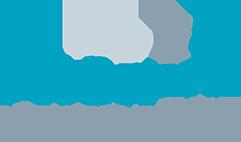 Logo Phoenix GmbH, Bautrocknung, Wasser - und Brandschadenbeseitigung bestehend aus einem Schriftzug der genannten Wörter in drei Zeilen, über den letzten drei Buchstaben des Wortes Phoenix sieht man drei Objekte die Rauch, Feuer und den Vogel Phoenix darstellen sollen.